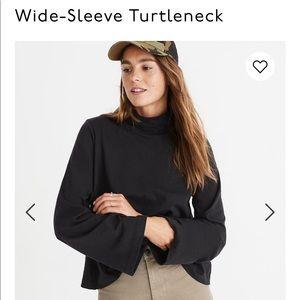 Madewell Wide Sleeve Turtleneck